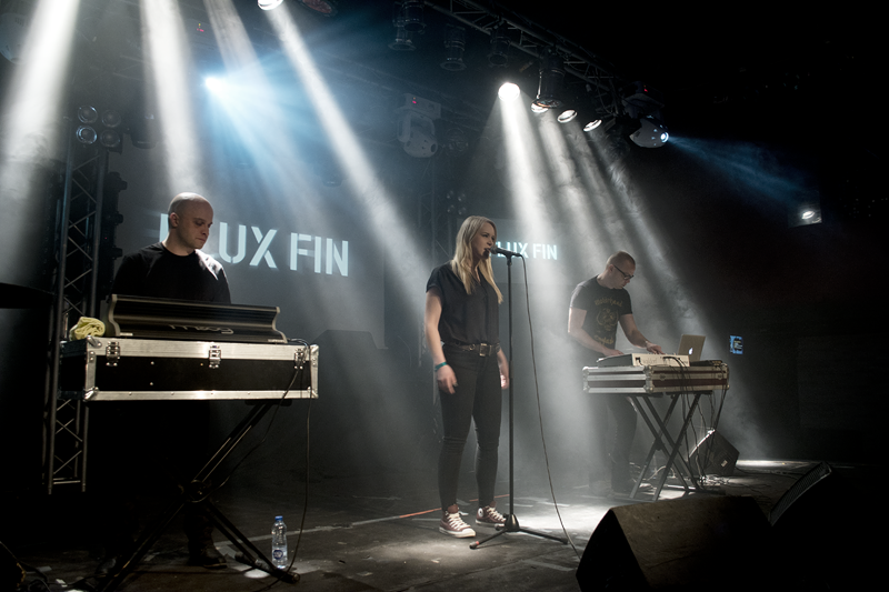 picture of Flux Fin in concert