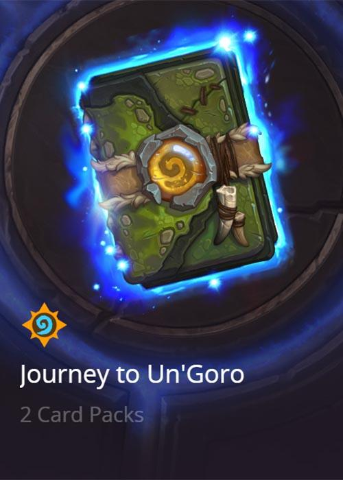 Journey to Un'Goro Cover