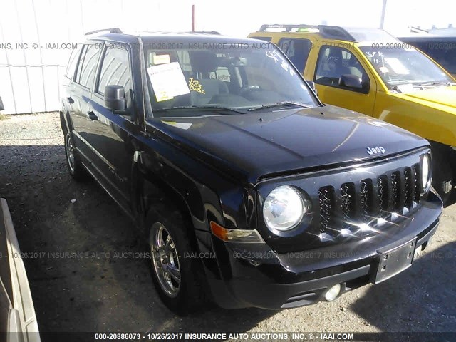 24029_01 jeep patriot front bumper assembly used suv parts