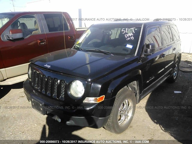 24029_02 jeep patriot front bumper assembly used suv parts