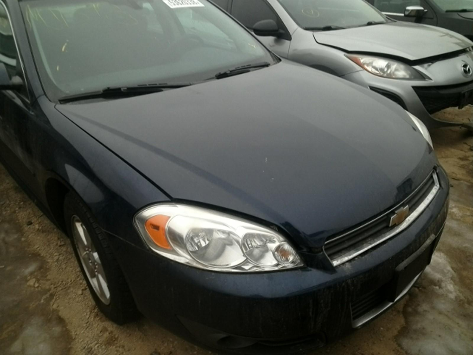 2008 chevy impala hood replacement