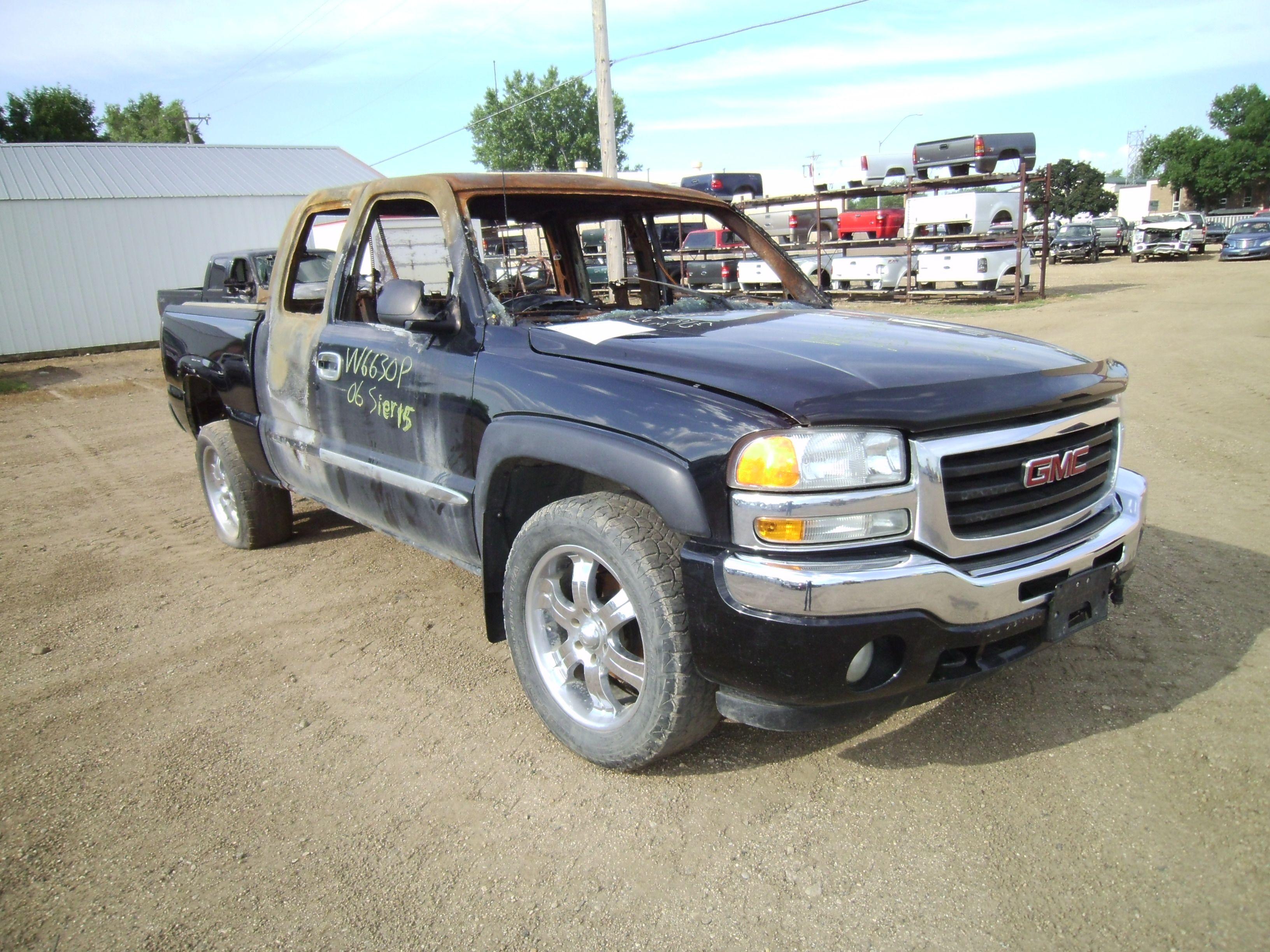 gmc sierra 1500 pickup frame used truck parts
