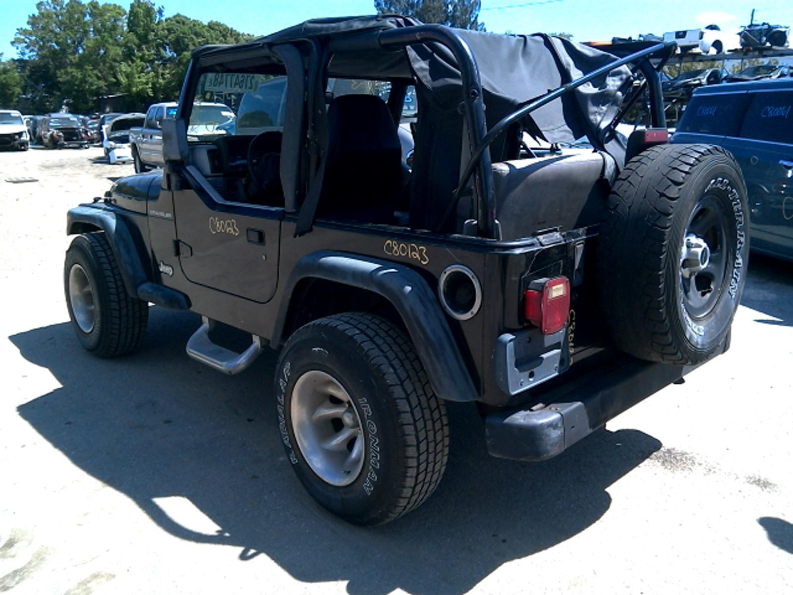 Jeep Wrangler Windshield Frame | Used SUV Parts