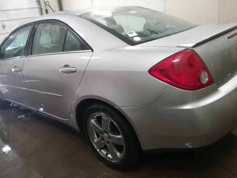 2008 pontiac g6 rear bumper replacement