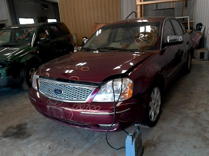 2005 ford 500 sel owners manual