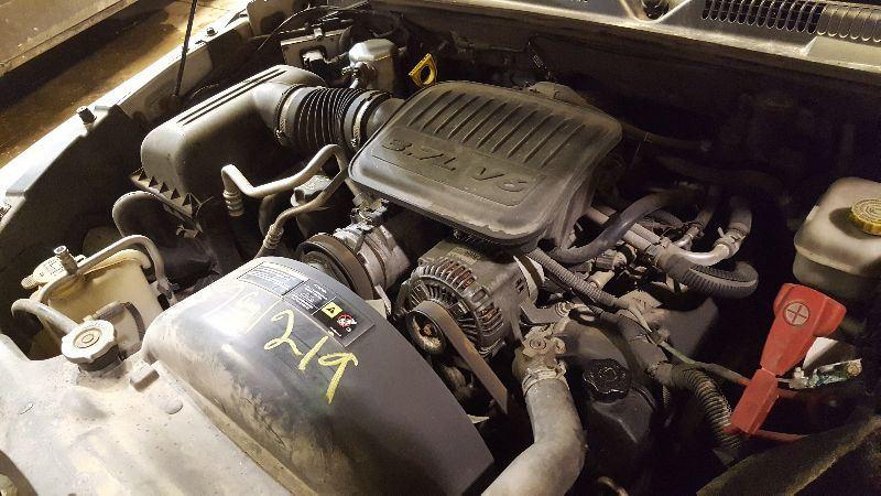 7864_02 dodge dakota engine wiring harness used truck parts