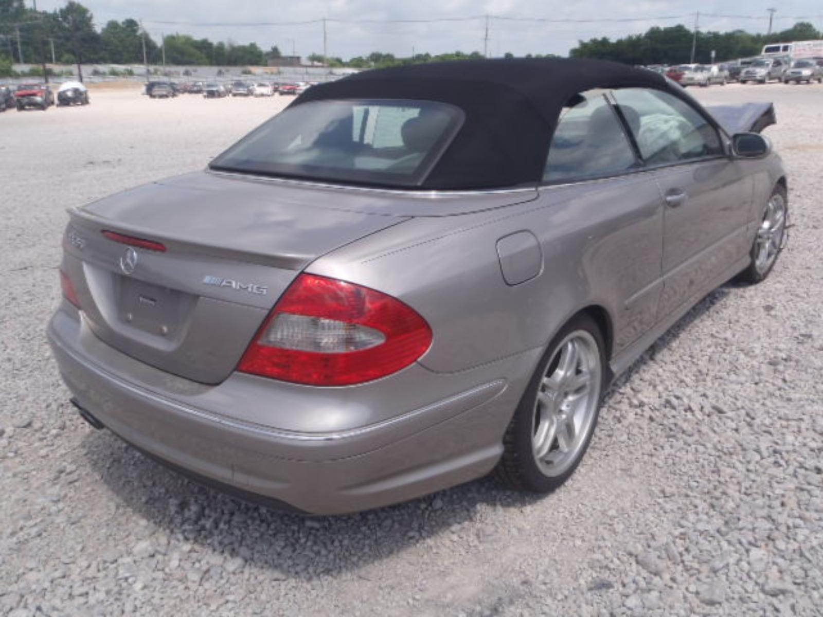 Mercedes Benz CLK Hood