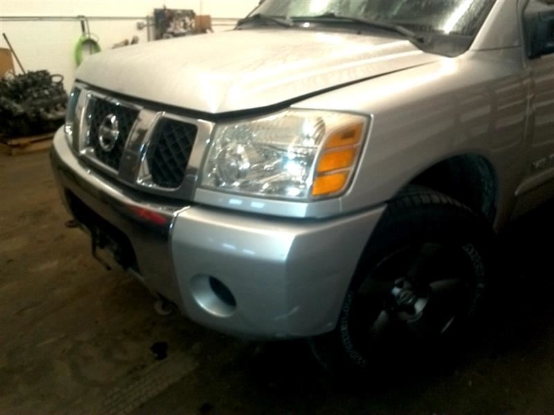 Nissan Titan Front Bumper Assembly   Used Auto Parts