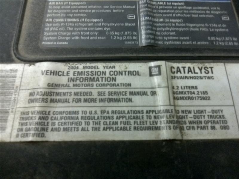 Chevrolet Trailblazer Fuel Filler Door Used Auto Parts