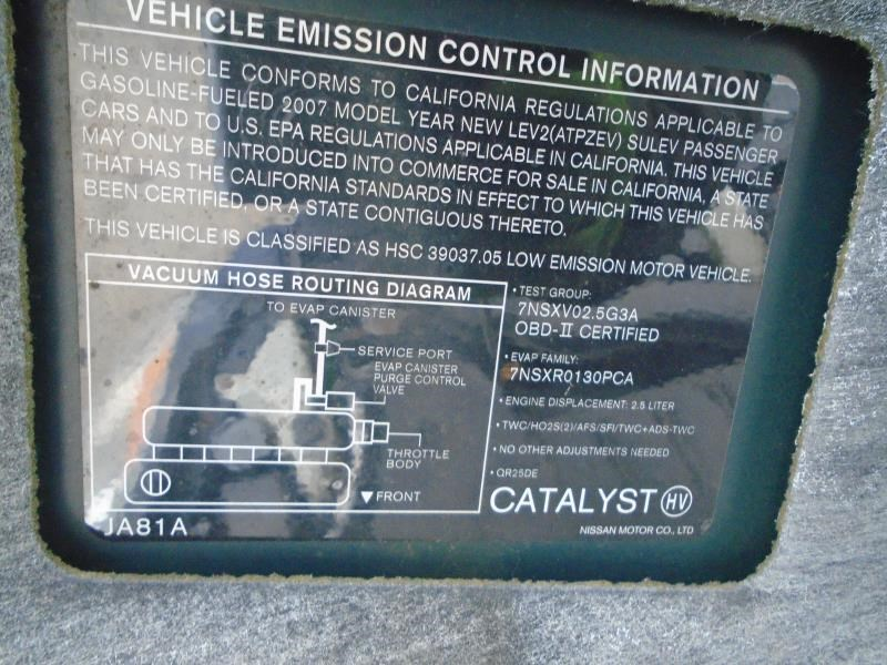 Nissan Altima Battery   Used Auto Parts