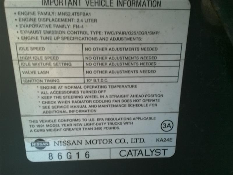 Nissan Pickup Bumper Assy, Rear | Used Auto Parts