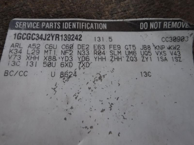 Chevrolet 3500 Pickup Frame | Used Truck Parts