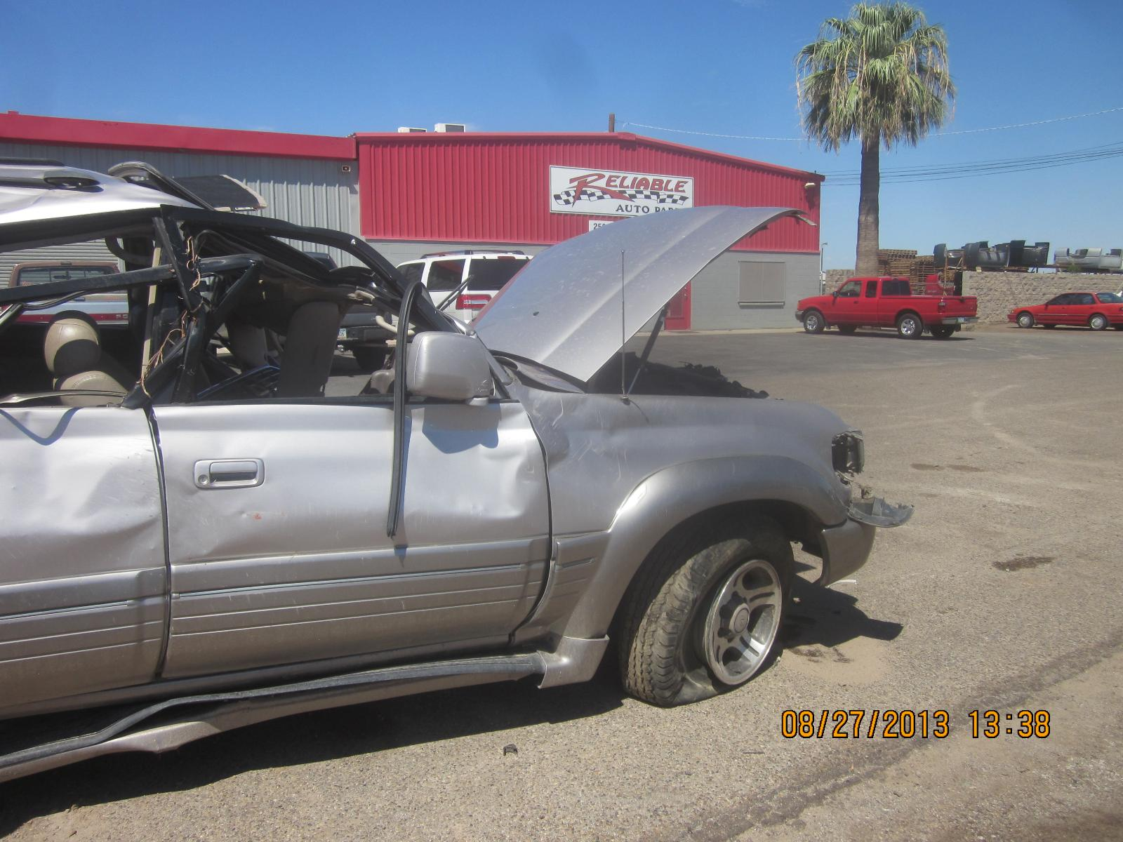 Toyota Land Cruiser Rear Axle Assembly | Used Auto Parts