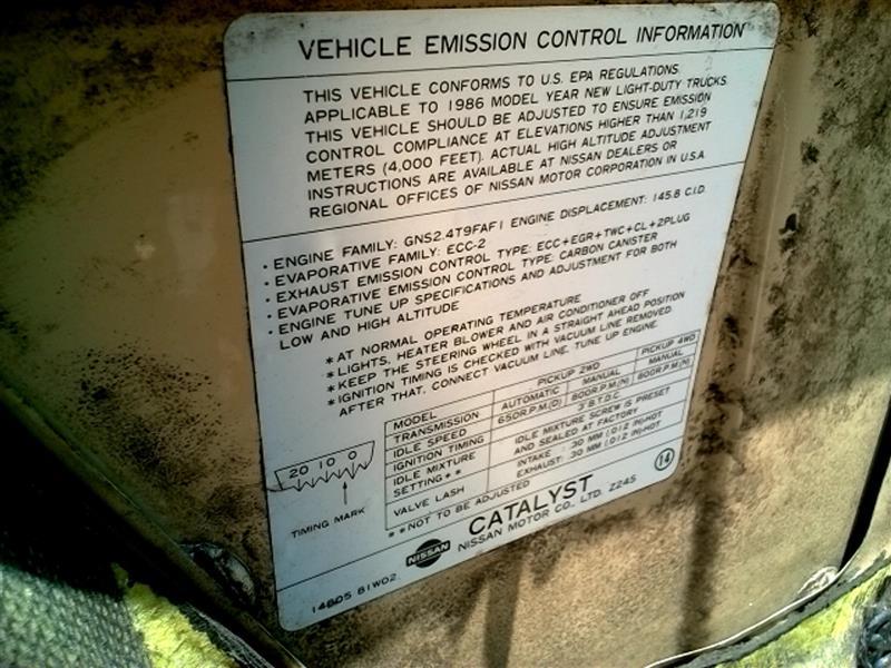 Nissan Pickup Pickup Box | Used Truck Parts