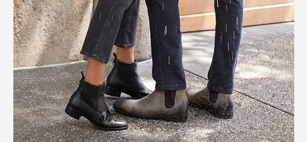 In durable, waterproof boots that get you where you want to be in style.