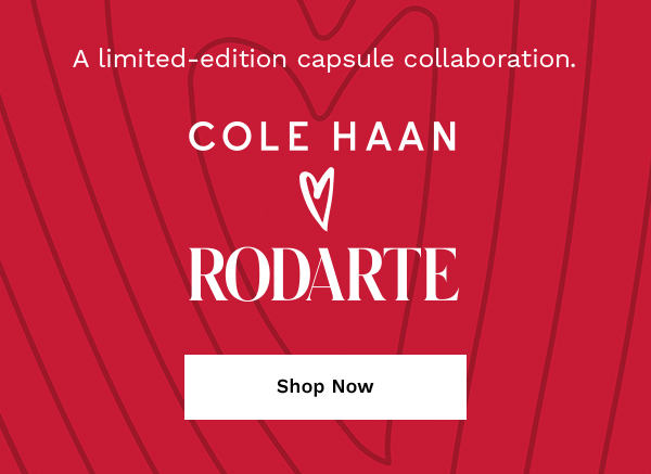 A limited-edition capsule collaboration. Cole Haan <3 Rodarte | SHOP NOW