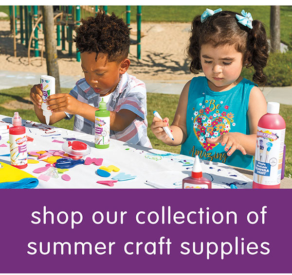 shop our collection of summer craft supplies