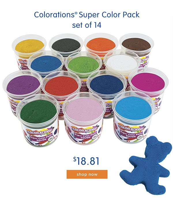 Colorations® Super Color Pack, set of 14, $18.81