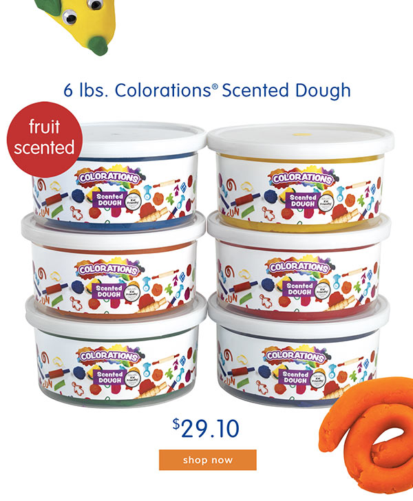 6 lbs. Colorations® Scented Dough - $29.10
