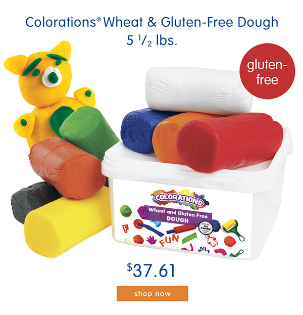 Colorations® Wheat & Gluten-Free Dough, 5 1/2 lbs. - $37.61