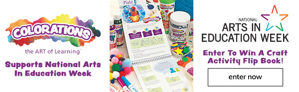 Arts in Education Week! Enter to win a Craft Activity Flip Book!