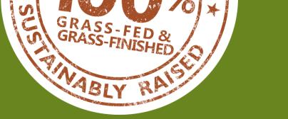 100% grass fed