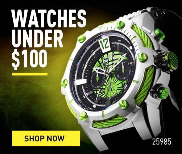 Watches Under $100. Shop Now.
