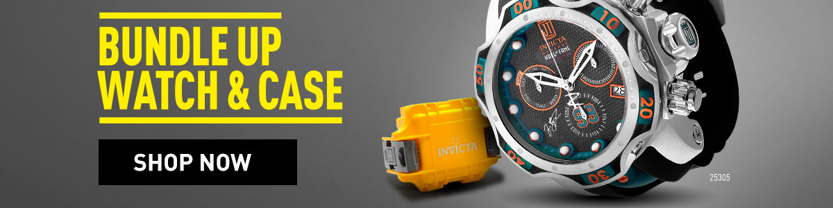 Invicta Bundle Up Watch & Case