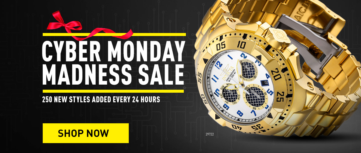 Invicta - Cyber Monday Madness Sale
