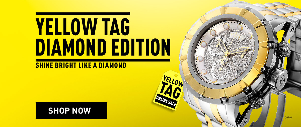 Invicta Yellow Tag Starting Today