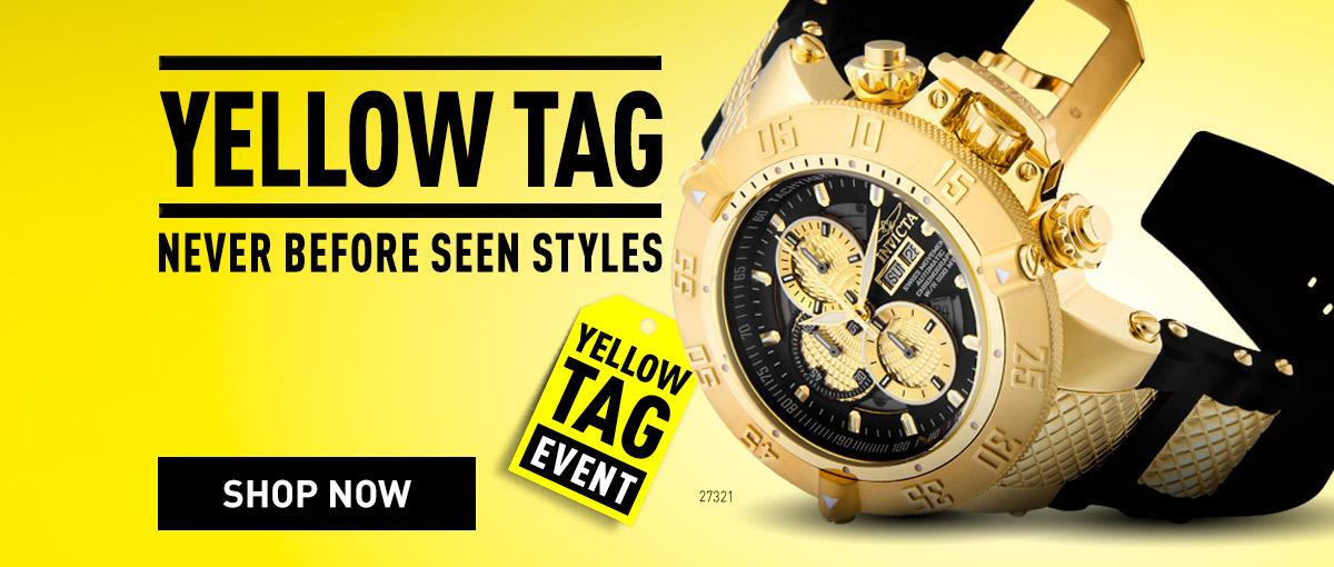 Invicta Yellow Tag Biggest Savings