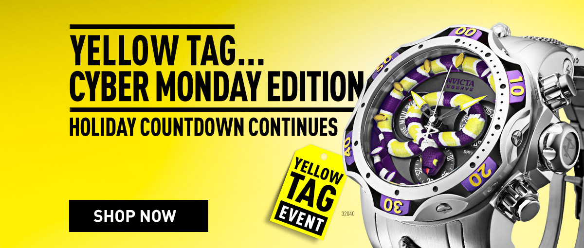 Invicta Yellow Tag