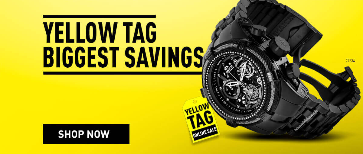Invicta Yellow Tag - Biggest Savings