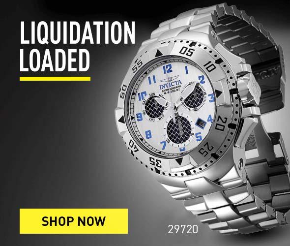 Liquidation Loaded. Shop Now.