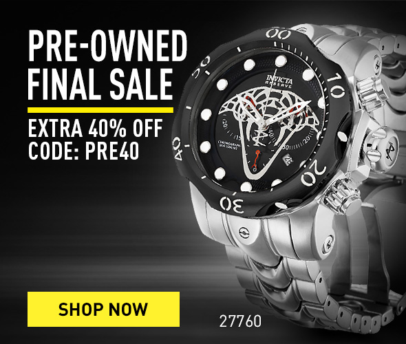 Pre-owned FINAL SALE EXTRA 40% OFF CODE: PRE40