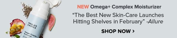 New Omega+ Complex Moisturizer