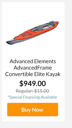 Advanced Elements AdvancedFrame Convertible Elite Kayak