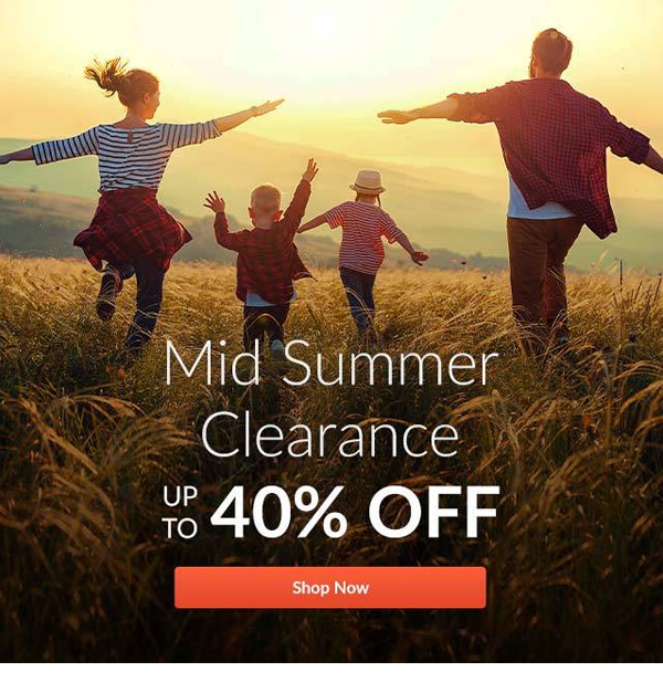 Mid Summer Clearance