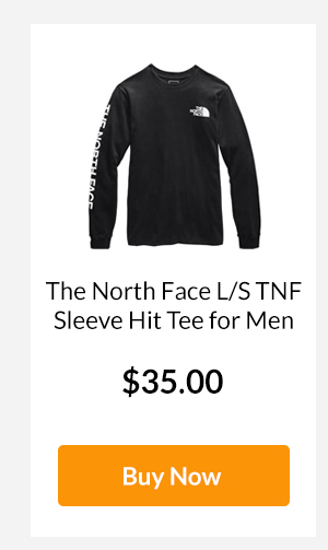 The North Face L/S TNF Sleeve Hit Tee for Men