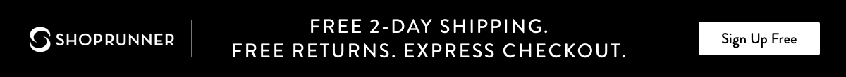 Free 2-day shipping and free returns