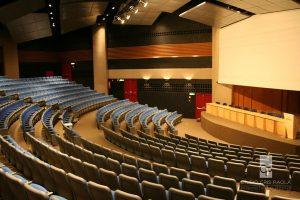 Auditório do Centro de Convenções Rebouças, da Faculdade de Medicina da USP