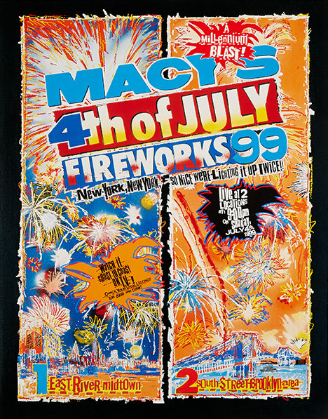 fireworks poster for year 1999