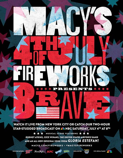fireworks poster for year 2015