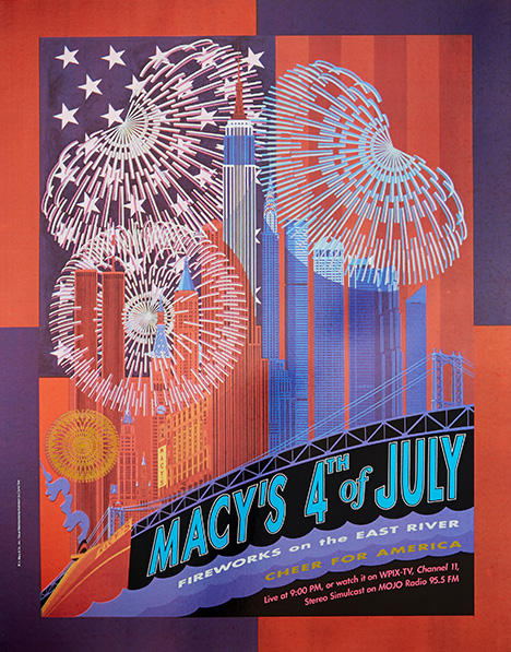 fireworks poster for year 1991