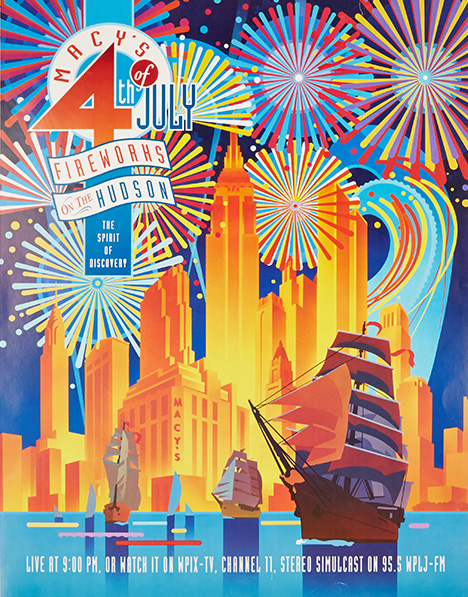 fireworks poster for year 1992