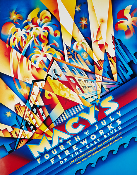 fireworks poster for year 1996