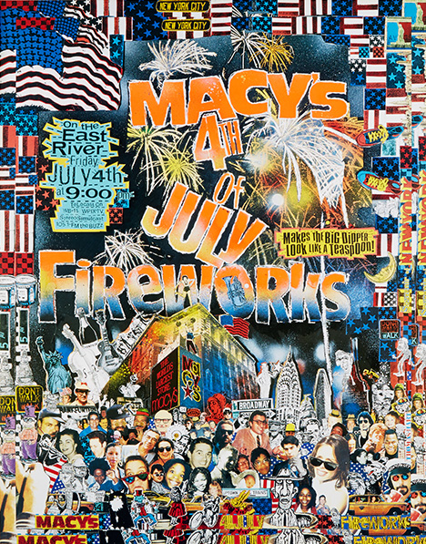 fireworks poster for year 1997