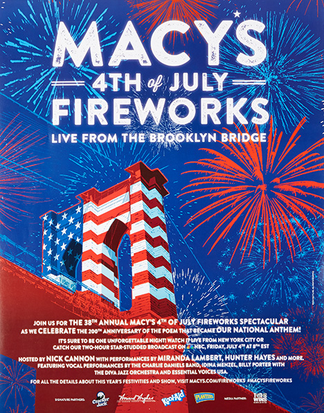 fireworks poster for year 2014