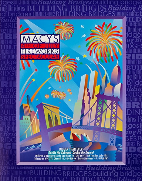 fireworks poster for year 1995