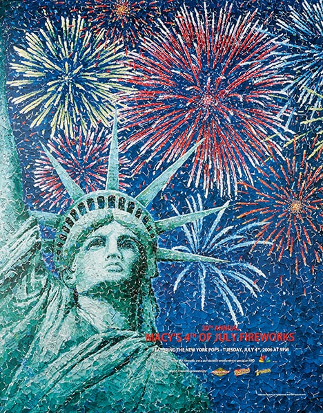 fireworks poster for year 2006